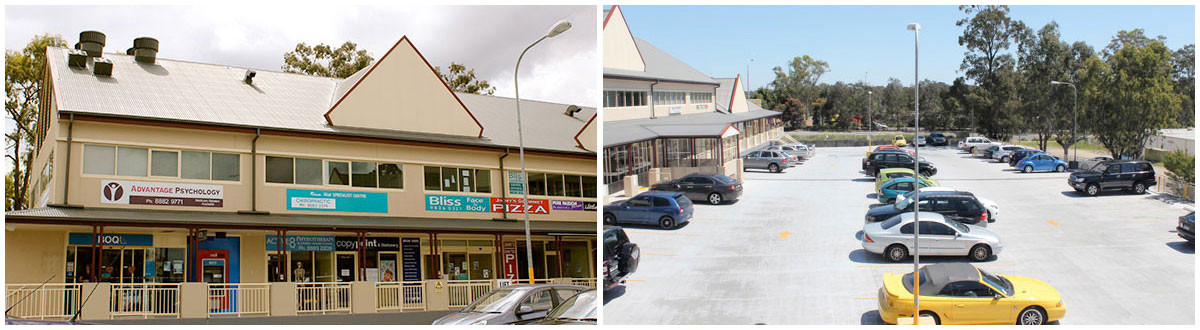 Photo of Chiropractic Health And Back Pain Specialists in Rouse Hill, Sydney, NSW with large car park, lots of parking
